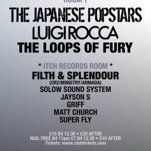 Matt Church at EGG Presents….The Japanese Popstars, Egg (Flyer Front)