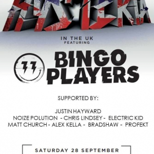 Matt Church at Hysteria Records pres Bingo Players, Elecric Brixton (Formally Fridge), 28th September 2013