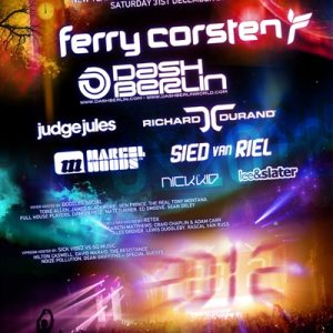 Matt Church at Ferry Corsten presents Full On Ferry NYE, O2 Academy Brixton (Flyer Front)