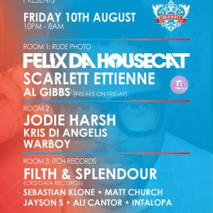 Matt Church at Egg pres...Felix Da Housecat / Itch Records, Egg, 10th August 2012