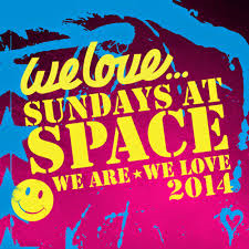 Matt Church at We love Sundays, Space Ibiza (Flyer Front)